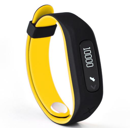 Actxa Swift Plus Smart Fit Band Yellow