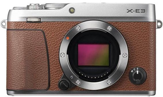 Fujifilm X-E3 Camera Brown (Body Only)