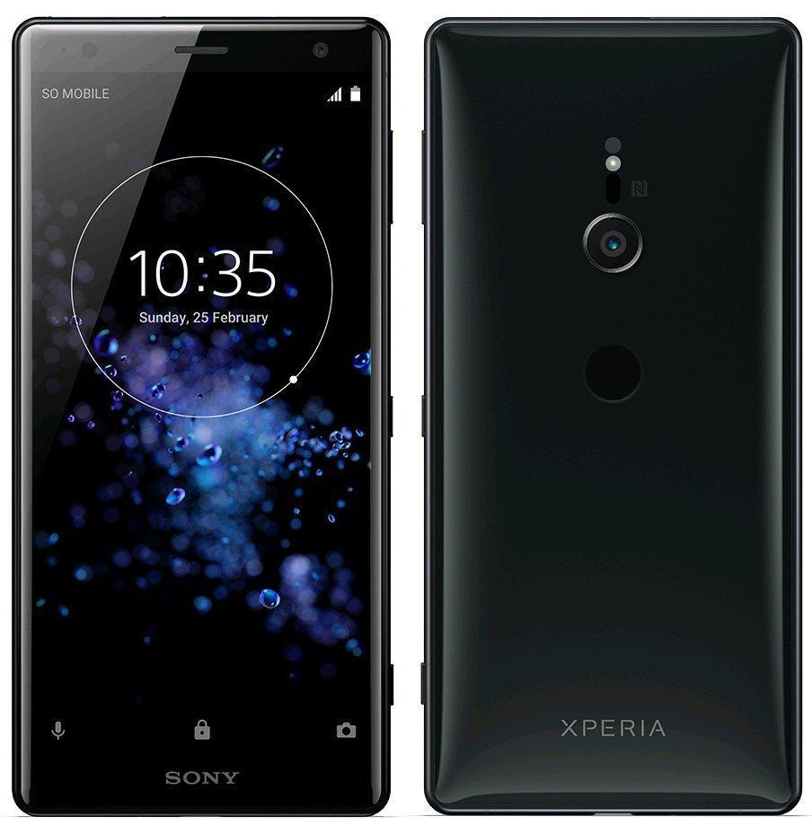 Sony Xperia XZ2 H8296 64GB Black (6GB RAM) + FREE Sony Phone Case