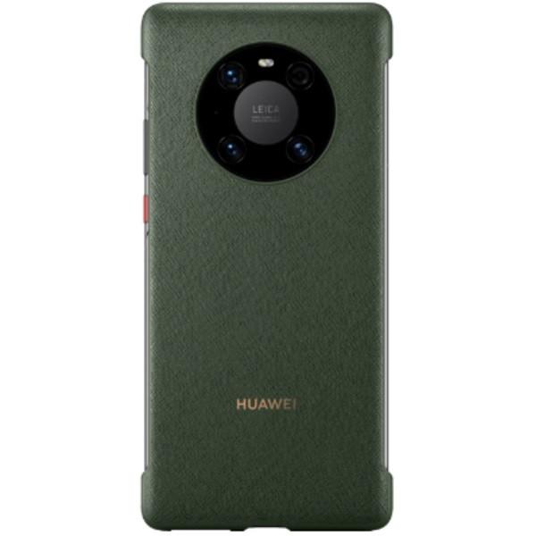 Huawei Mate 40 Pro PU Phone Case (Green)