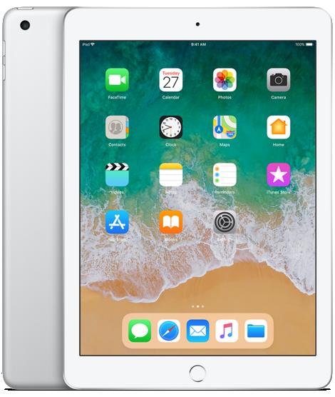 Apple iPad 9.7 2018 Wifi 128GB Silver (HK)
