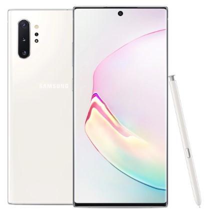 Samsung Galaxy Note 10 Plus Dual Sim N9750 256GB Aura White (12GB RAM)