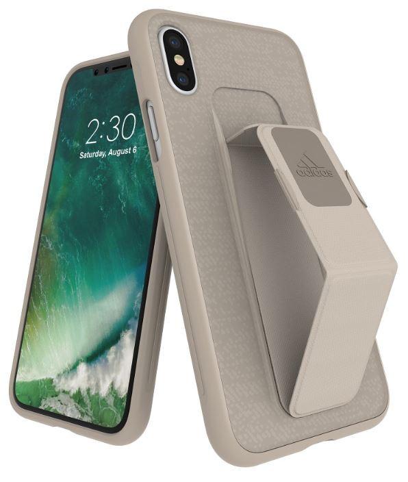 Adidas Iphone X Grip Back Phone Case Sesame