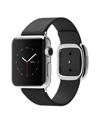 Apple Watch 38mm with Black Modern Buckle