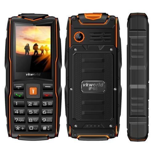 VKworld New Stone V3 Triple Sim 64MB Orange