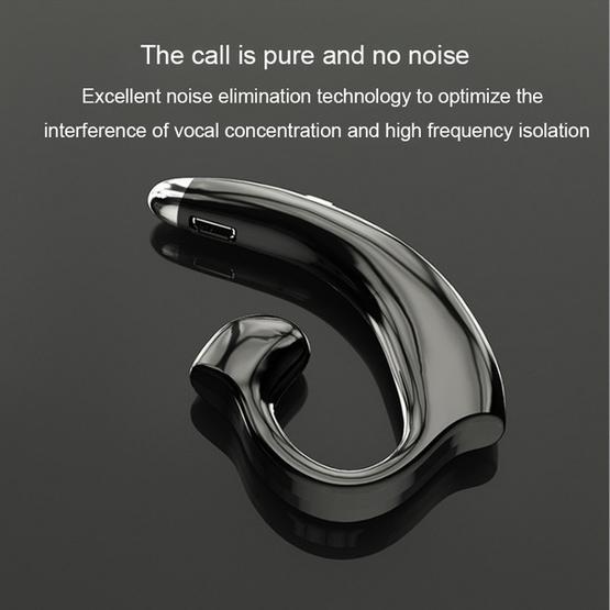 Sports Style Ear-hook Wireless Stereo V4.2 Bluetooth Headphones (Black)