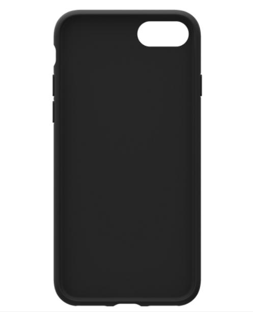 Adidas iPhone 8+ Moulded Back Phone Case Black